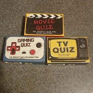 Other - Trivia card games